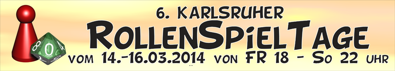 Karlsruher Rollenspieltage 2014